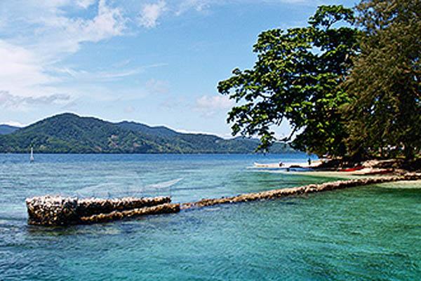 Beautiful sea and tropical beach